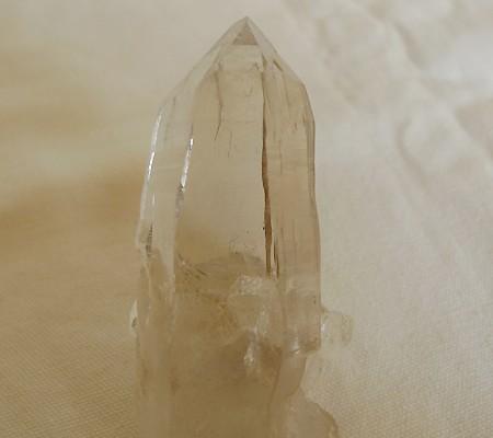 ヒマラヤ水晶原石透明・ミラー水晶001-3