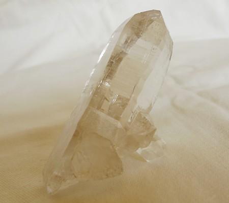 ヒマラヤ水晶原石透明・ミラー水晶001-4