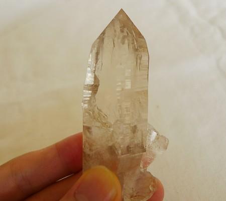 ヒマラヤ水晶原石透明・ミラー水晶001-6