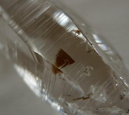 ヒマラヤ水晶原石透明・ミラー水晶004-10