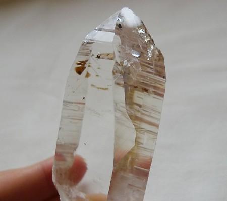ヒマラヤ水晶原石透明・ミラー水晶004-7