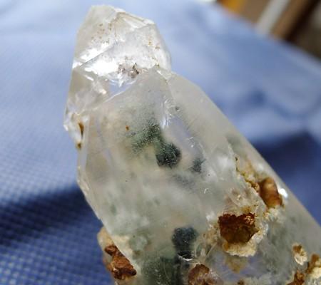 ヒマラヤ水晶原石特殊内包物016-4
