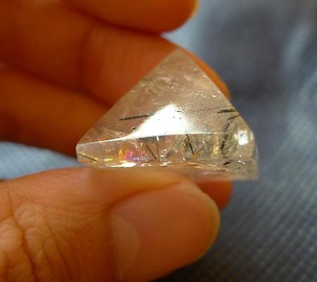 ヒマラヤ水晶丸玉内包物入り005-7