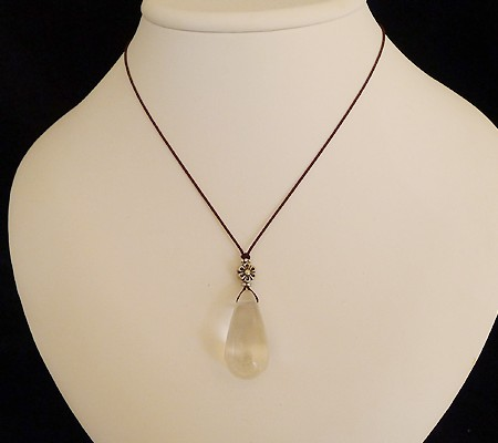 ヒマラヤ水晶ひも付きチョーカー011-8