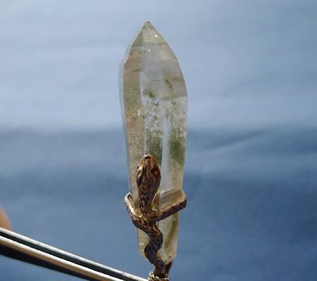 ヒマラヤ水晶ペンダント特殊形状010-3