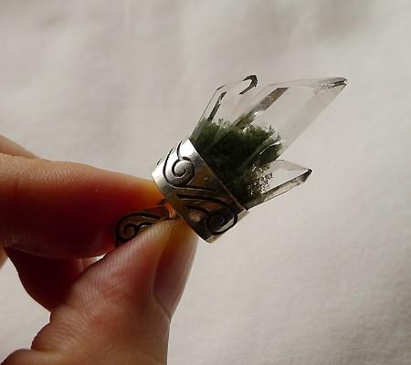 ヒマラヤ水晶ペンダント特殊形状011-10