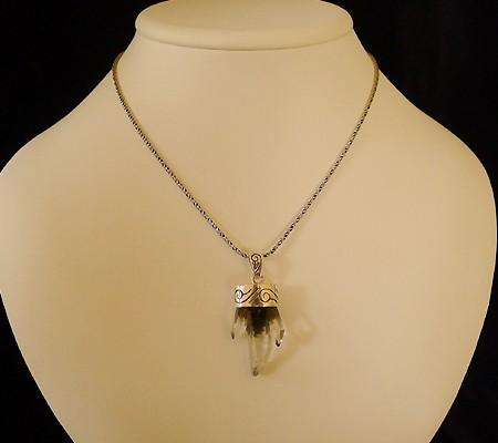 ヒマラヤ水晶ペンダント特殊形状011-11