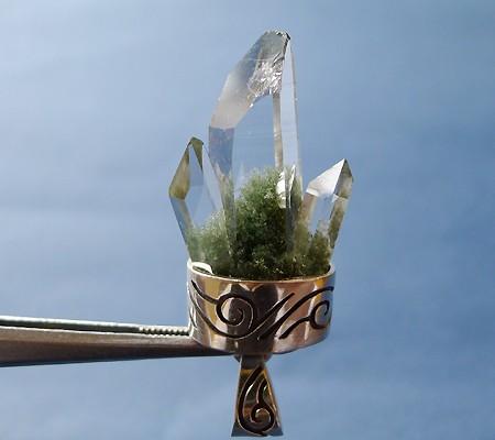 ヒマラヤ水晶ペンダント特殊形状011-2
