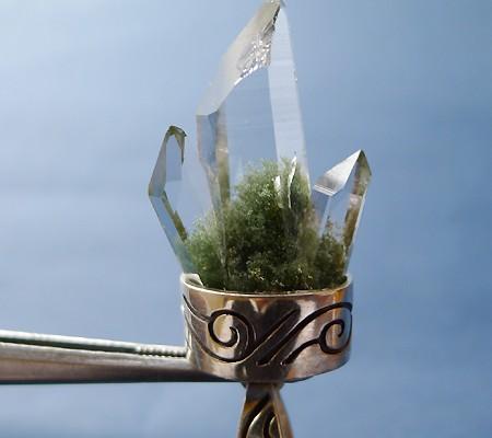 ヒマラヤ水晶ペンダント特殊形状011-4