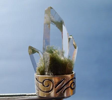 ヒマラヤ水晶ペンダント特殊形状011-6