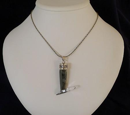 ヒマラヤ水晶ペンダント特殊形状015-9