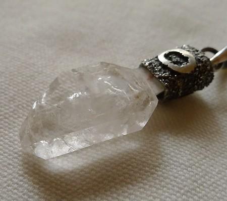 ヒマラヤ水晶ペンダント特殊形状016-7