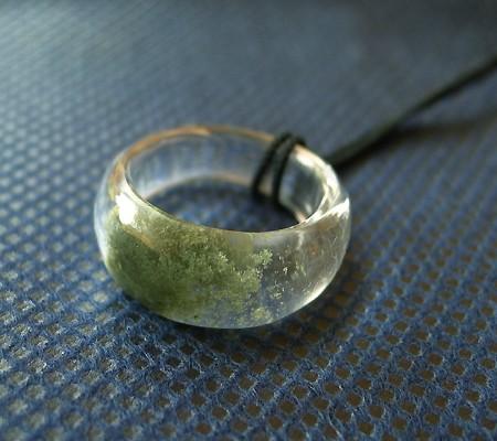 ヒマラヤ水晶くり貫きリング017-2