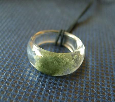 ヒマラヤ水晶くり貫きリング017-3