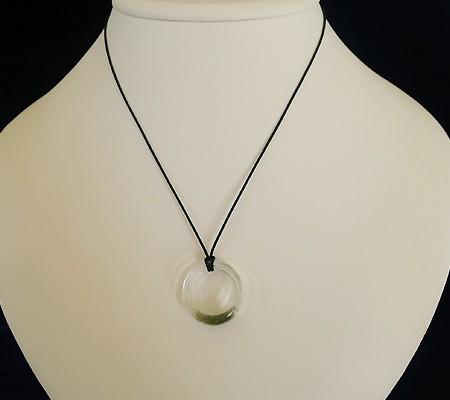 ヒマラヤ水晶くり貫きリング017-7