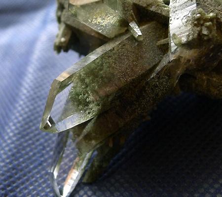 ヒマラヤ水晶原石緑泥石入り023-2