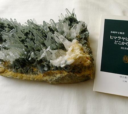 ヒマラヤ水晶原石緑泥石入り028-13