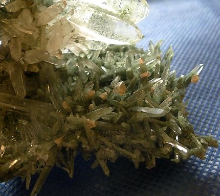 ヒマラヤ水晶原石緑泥石入り029-5