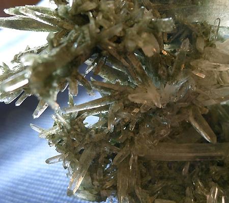 ヒマラヤ水晶原石緑泥石入り029-6