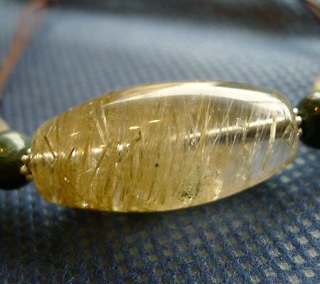 ヒマラヤ水晶丸玉デザインチョーカー020-5
