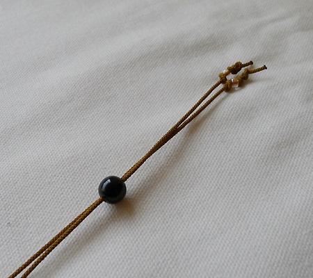 ヒマラヤ水晶紐付きチョーカー015-7