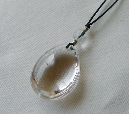 ヒマラヤ水晶紐付きチョーカー016-4