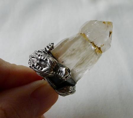 ヒマラヤ水晶ペンダントドラゴントップ007-8