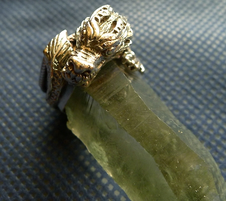 ヒマラヤ水晶ペンダントドラゴントップ011-10