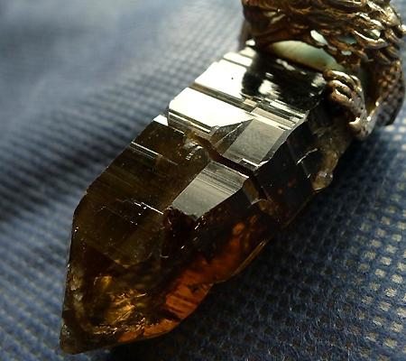 ヒマラヤ水晶ペンダントドラゴントップ012-6
