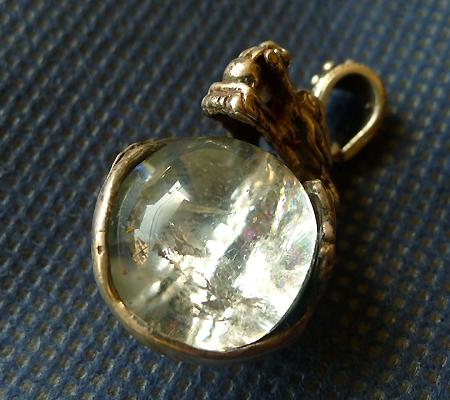 ヒマラヤ水晶ペンダントドラゴントップ014-6