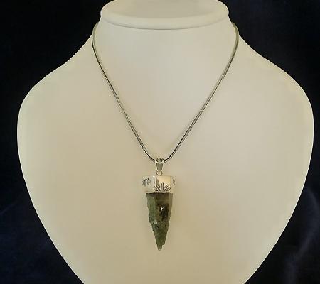 ヒマラヤ水晶ペンダント緑泥石入り029-10