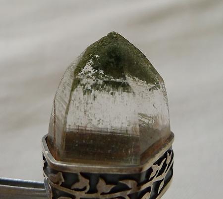 ヒマラヤ水晶ペンダント緑泥石入り034-7