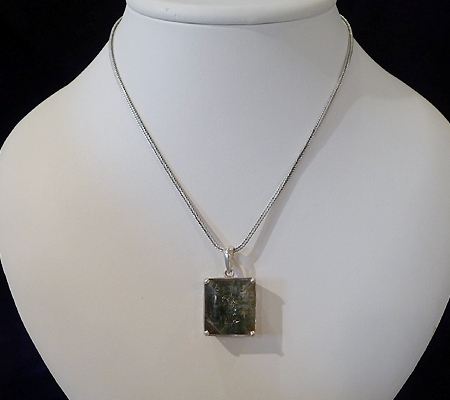 ヒマラヤ水晶ペンダント緑泥石入り035-9