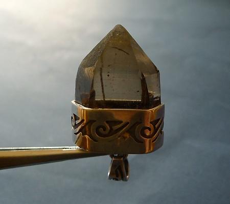 ヒマラヤ水晶ペンダントスモーキークォーツ025-2