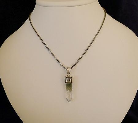 ヒマラヤ水晶ペンダント特殊形状019-10