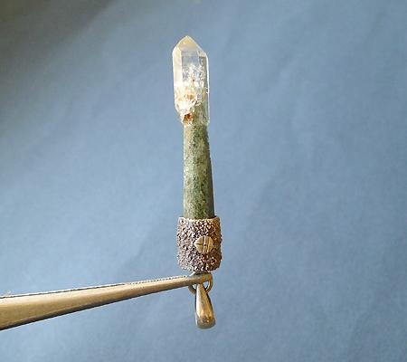 ヒマラヤ水晶ペンダント特殊形状024-3