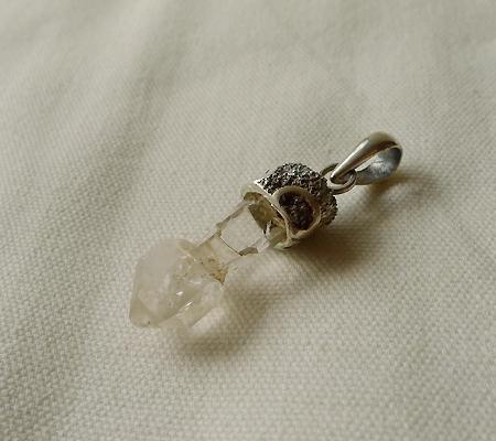 ヒマラヤ水晶ペンダント特殊形状026-5