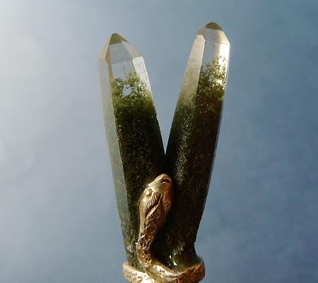 ヒマラヤ水晶ペンダント特殊形状027-2