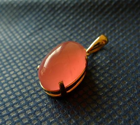 18金コレクションペンダント007-5ロードクロサイト
