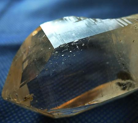 ヒマラヤ水晶原石ミラー水晶007-5