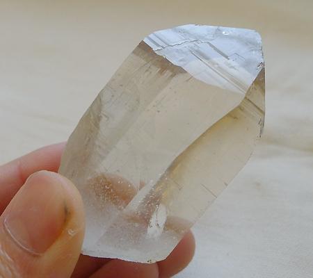 ヒマラヤ水晶原石ミラー水晶007-9