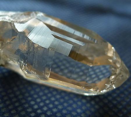ヒマラヤ水晶原石ミラー水晶008-4