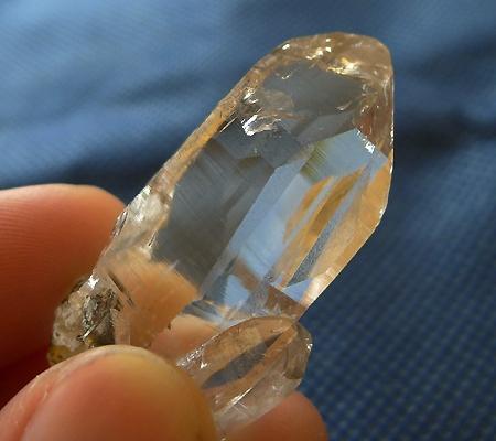 ヒマラヤ水晶原石ミラー水晶008-7