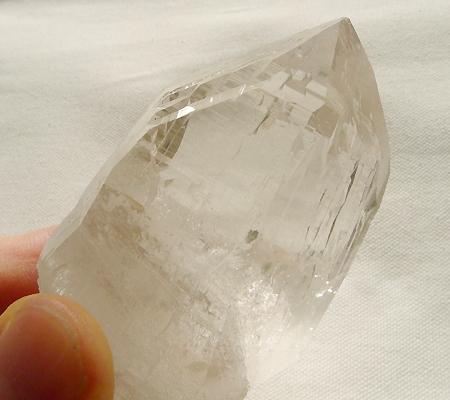 ヒマラヤ水晶原石ミラー水晶012-9