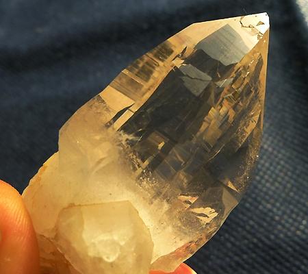 ヒマラヤ水晶原石ミラー水晶013-10