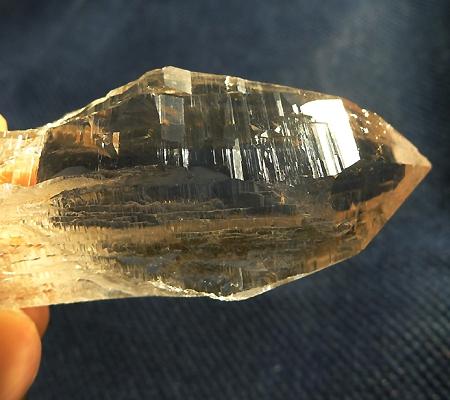 ヒマラヤ水晶原石ミラー水晶014-10