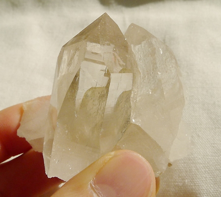 ヒマラヤ水晶原石ミラー水晶016-11