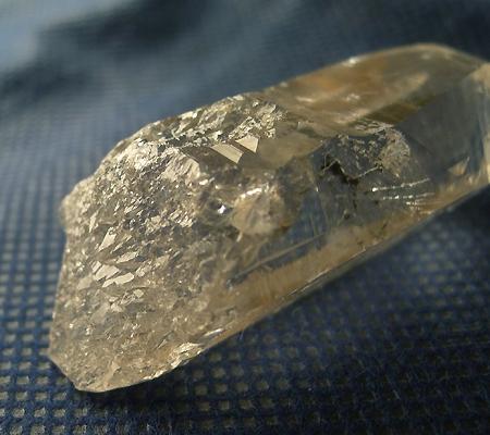 ヒマラヤ水晶原石ミラー水晶019-7