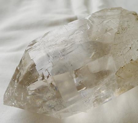 ヒマラヤ水晶原石ミラー水晶020-8