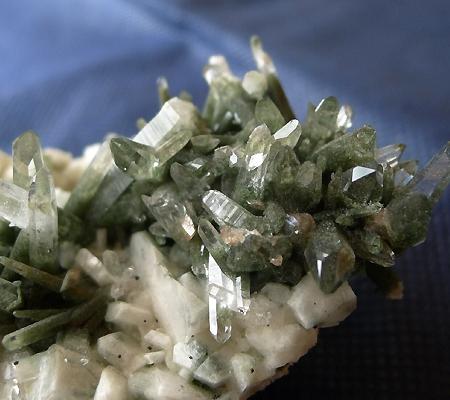 ヒマラヤ水晶原石緑泥石入り034-2